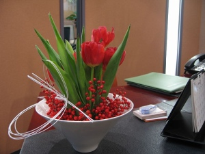 Flowers for Montreal Office