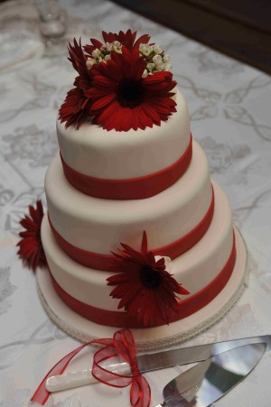 Montreal Wedding Flowers - Cake Decoration